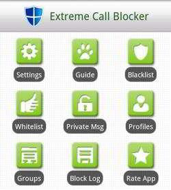 Extreme Call Blocker app
